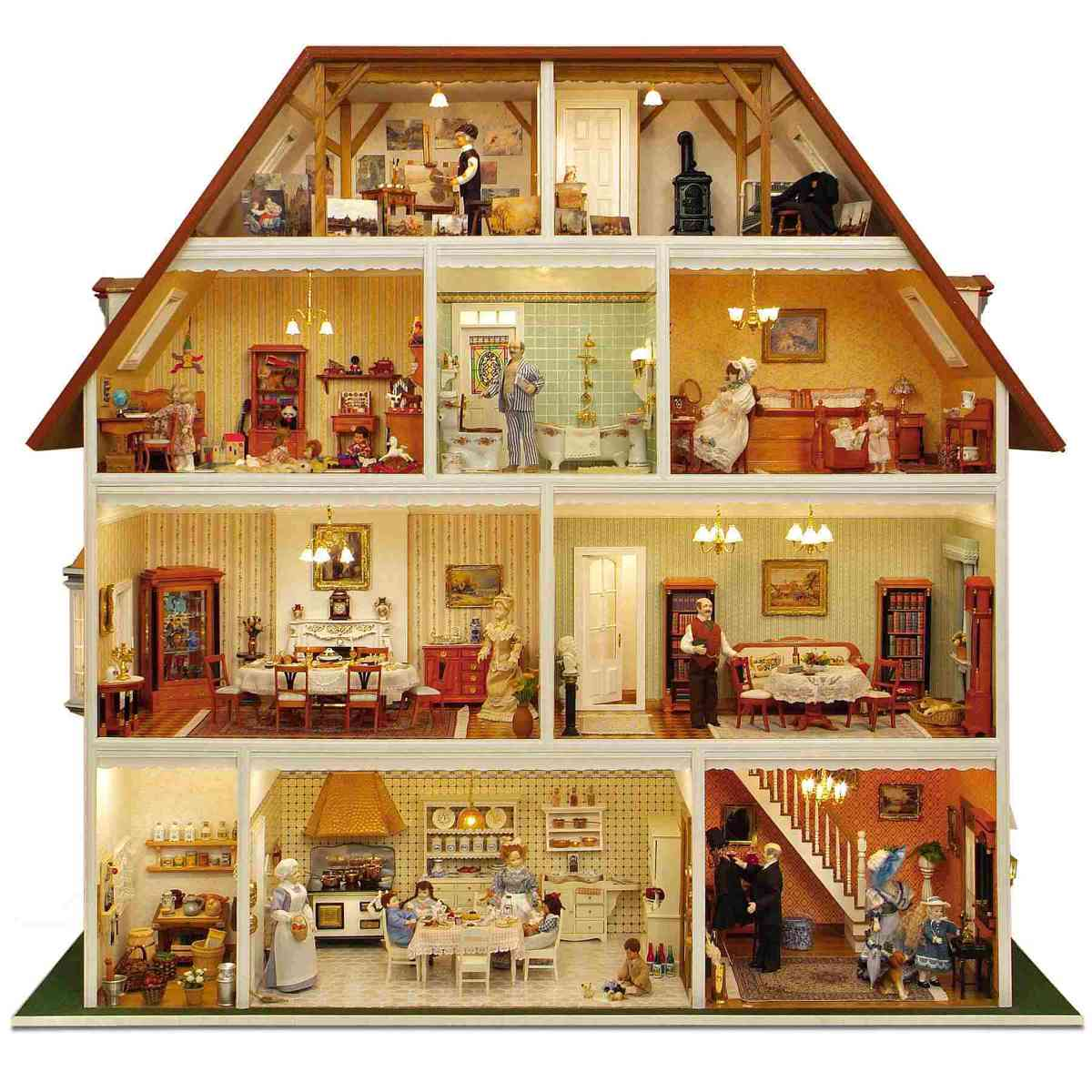 bauelemente set villa tara 90220. Black Bedroom Furniture Sets. Home Design Ideas