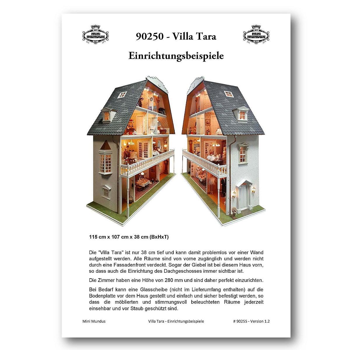 Villa Tara - Einrichtungsbeispiele