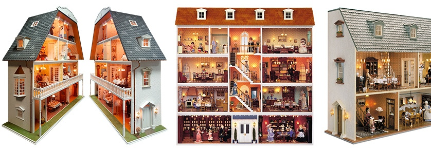 Miniature Houses / Dolls Houses