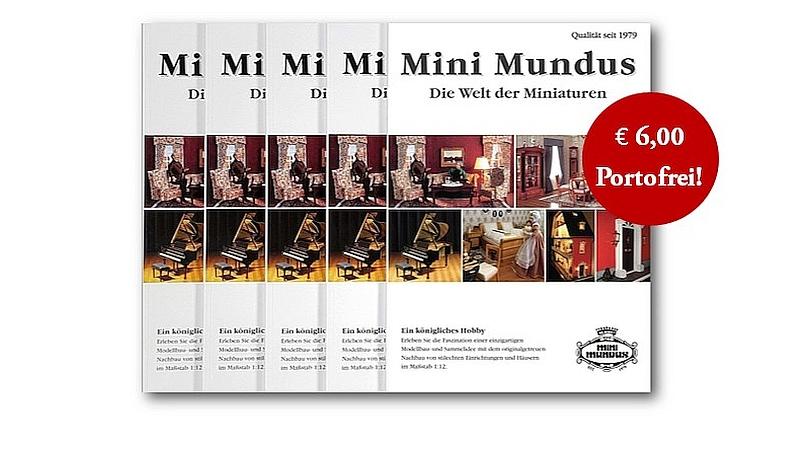 Sommer-Aktion: Der neue Mini Mundus Katalog zum Sonderpreis und portofrei!
