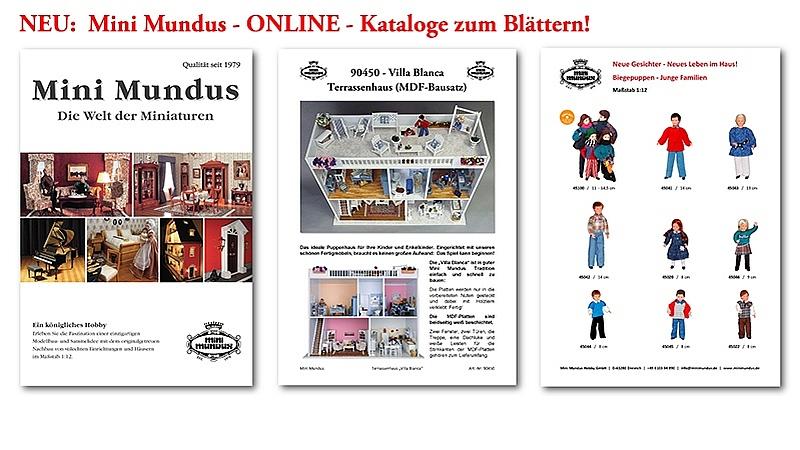 Hier geht es zu den Mini Mundus ONLINE Katalogen!