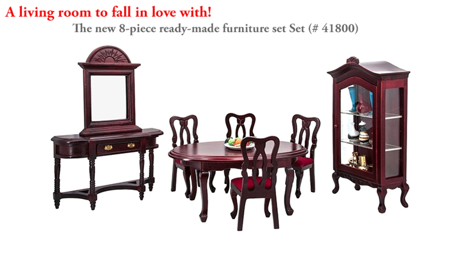 The Chippendale Living Room Set