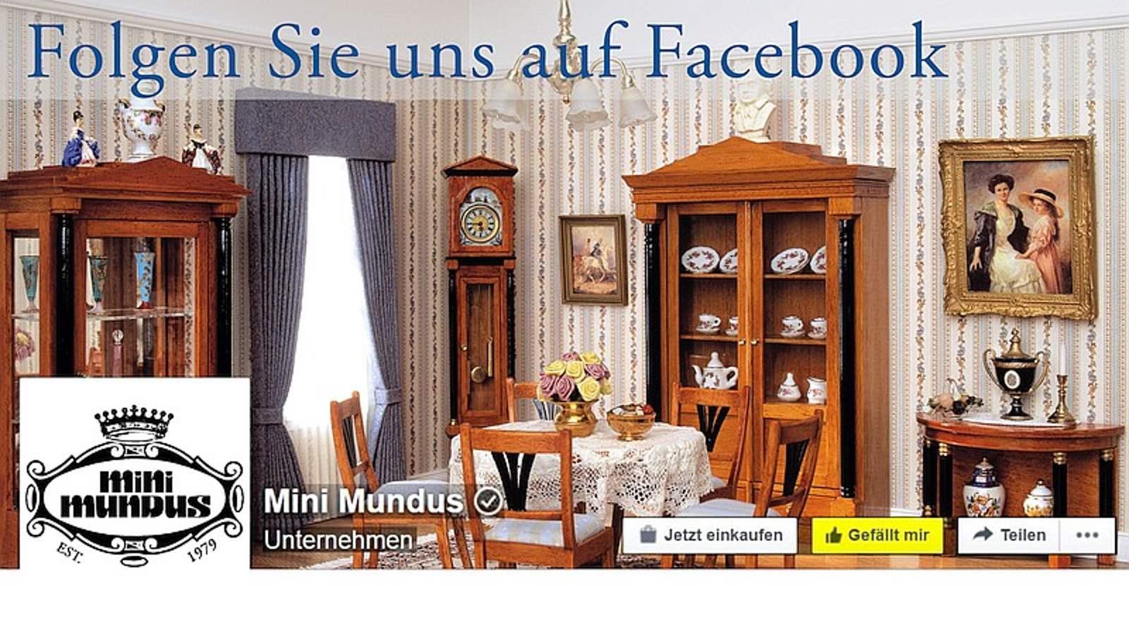 NEU: Mini Mundus Facebook Seite