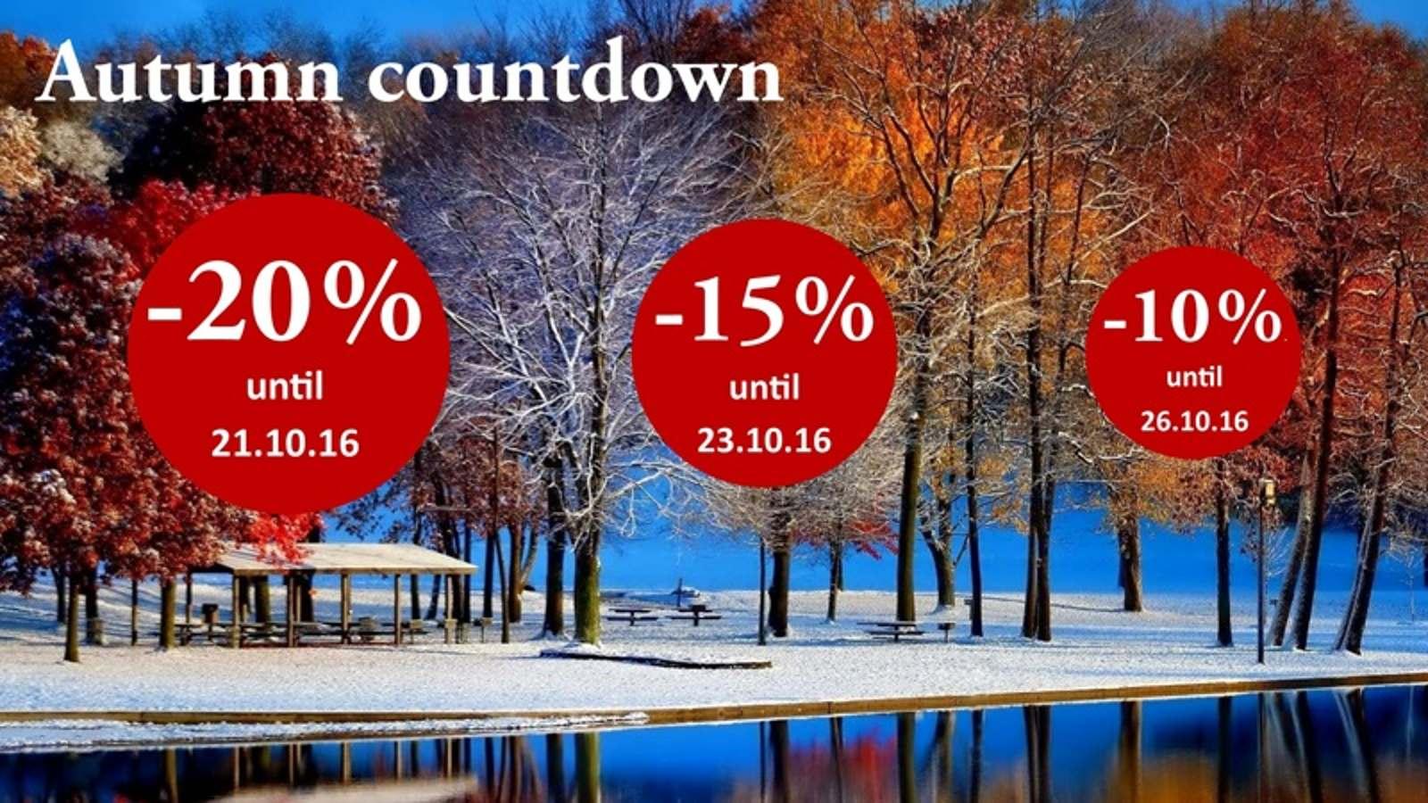 20% - 15% - 10% - be quick, it's worth it!