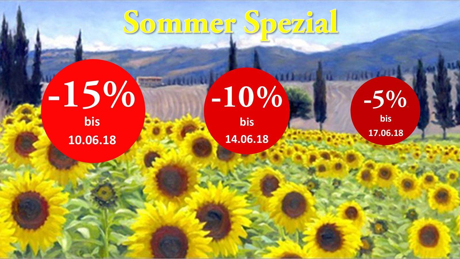 """Schnell sein, lohnt sich: Unser """"Rabatt Countdown"""" zum Start in den Sommer!"""