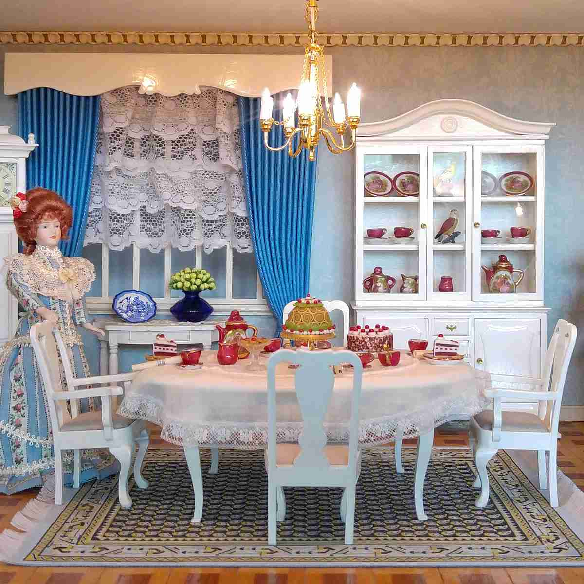 Furniture Construction Set   English Dining Room