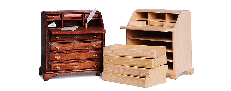 Period furniture construction kits
