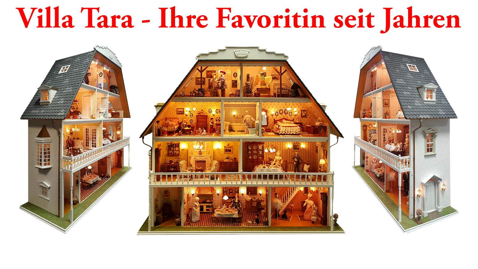 35 Jahre Mini Mundus Miniatur- und Puppenhäuser!