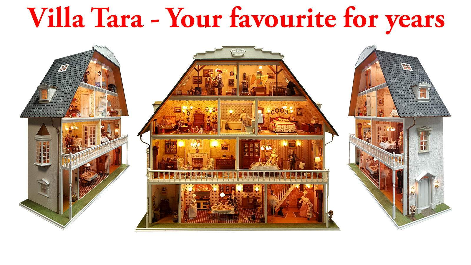 35 years of Mini Mundus miniature and doll's houses!