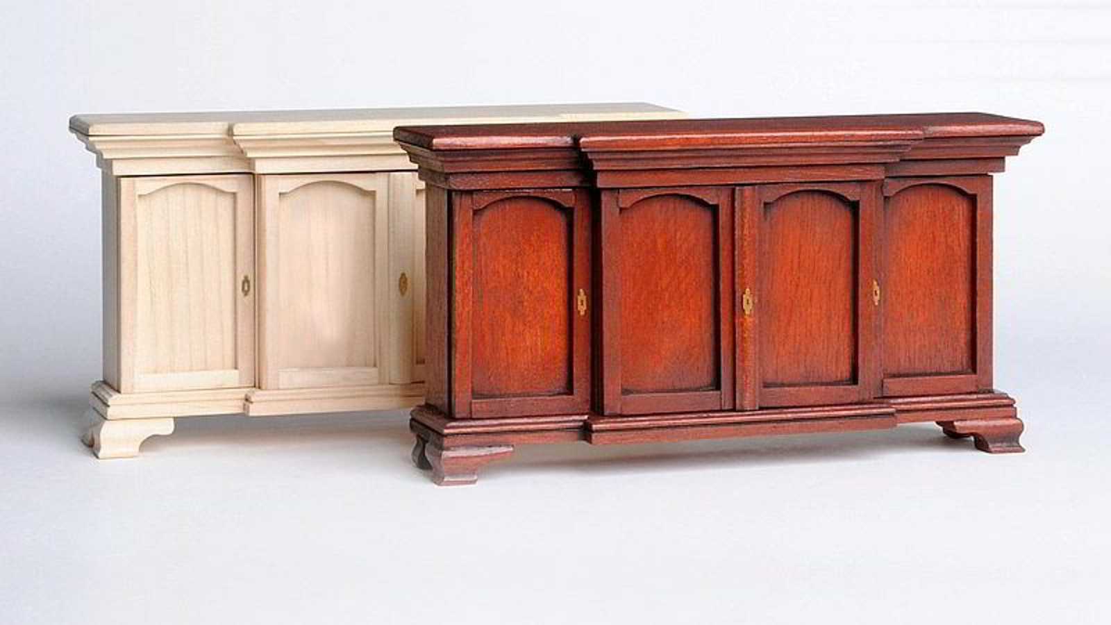 NEW: Beautiful Chippendale sideboard with 4 doors