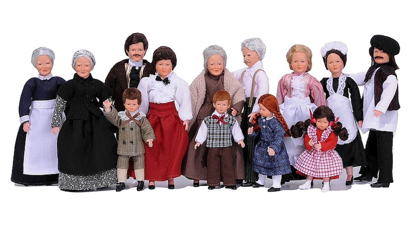 Exclusive porcelain and flexible dolls with charm and enchanting charisma