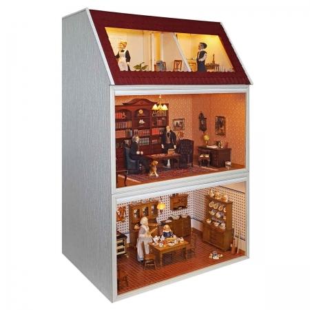 modul box haus mit panorama dachgeschoss 90180. Black Bedroom Furniture Sets. Home Design Ideas